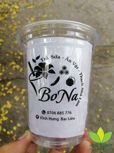 chuyên in ly nhựa trà sữa